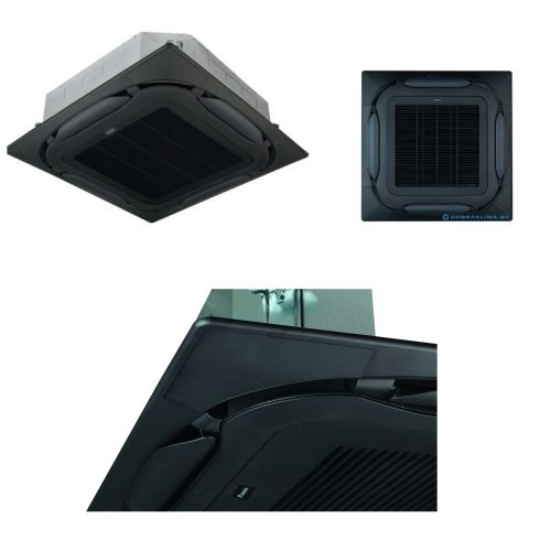 Daikin Air Conditioning Black Standard Decoration Panel Round Flow BYCQ140EGFB Auto Cleaning